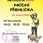Netradiční módní přehlídka v OC Nisa Liberec