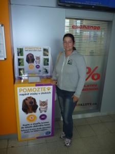 Pomozte naplnit misky v útulcích a prezentace útulku v OC Globus Liberec