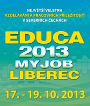 Prezentace OHK Liberec a útulku na veletrhu práce Educa