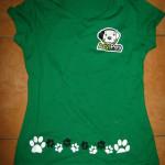 Tričko dámské – zelené