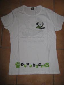 Tričko dámské – bílé