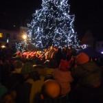 Jaké to bylo v Hrádku nad Nisou u rozsvícení stromku?