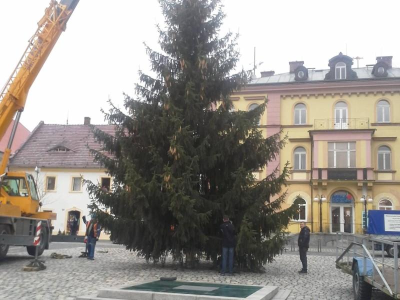 Rozsvícení vánočního stromu v Hrádku nad Nisou