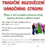 Rozsvícení vánočního stromu letos i v Hejnicích