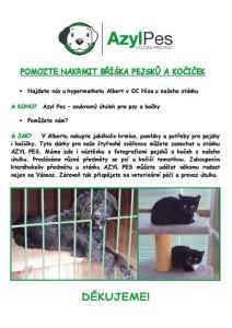 Pomozte naplnit bříška pejsků a kočiček